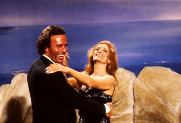 Dalida et Julio Iglesias en 1981
