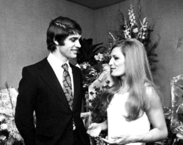 Dalida et François Cevert en 1971