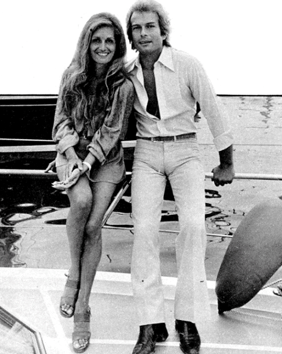 "Dalida et Richard Chanfray ""Le Comte de Saint-Germain"""