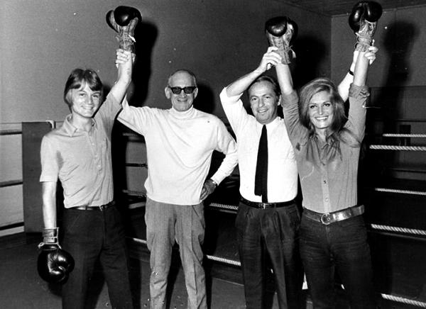 Dalida, Claude François et Guy Lux - Vers 1968