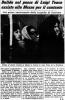 Dalida - Article de presse (Messe anniversaire de la mort de Luigi Tenco) - 1968