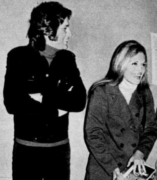 Dalida et Mike Brant - Vers 1971