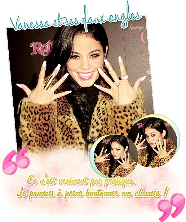 Vanessa et ses faux ongles + complète la phrase