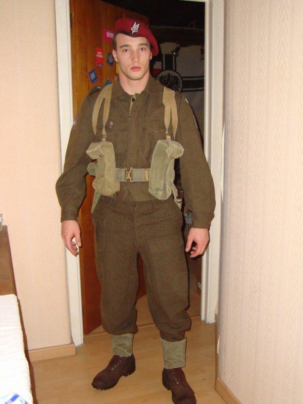 tenue SAS français ww2 (anglaise aussi)