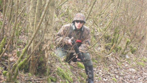 mon uniforme WSS camo feuille de chêne