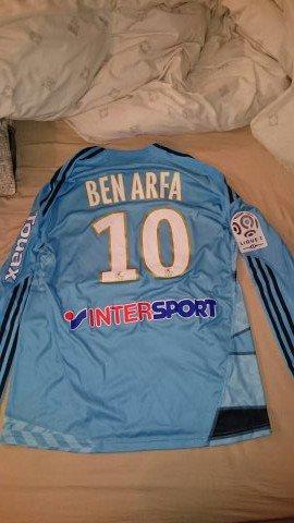 Maillot préparé pour Hatem Ben Arfa à Marseille !
