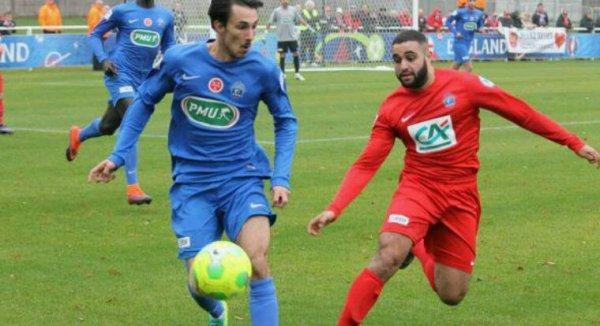 Maillot porté Charbonnier coupe de France vs Saint Maximin