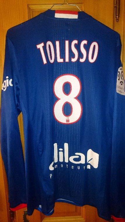 Maillot porté Tolisso