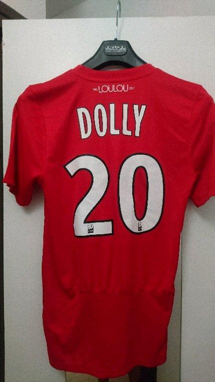Maillot porté Dolly Lyon Montpellier