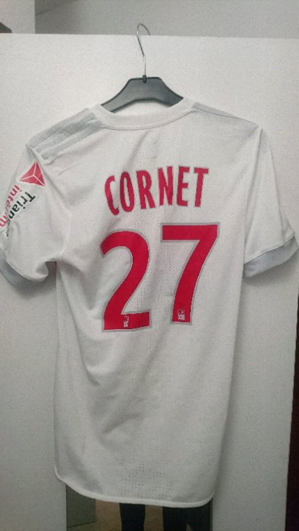 Maillot porté Cornet