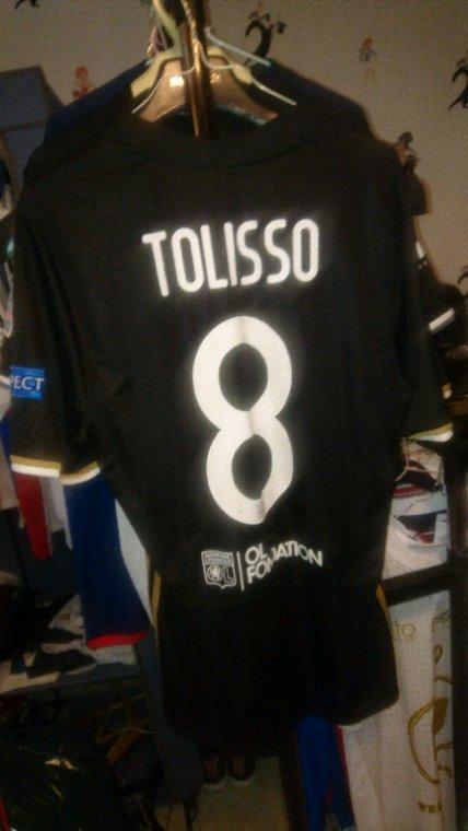 Maillot porté Tolisso vs Ajax