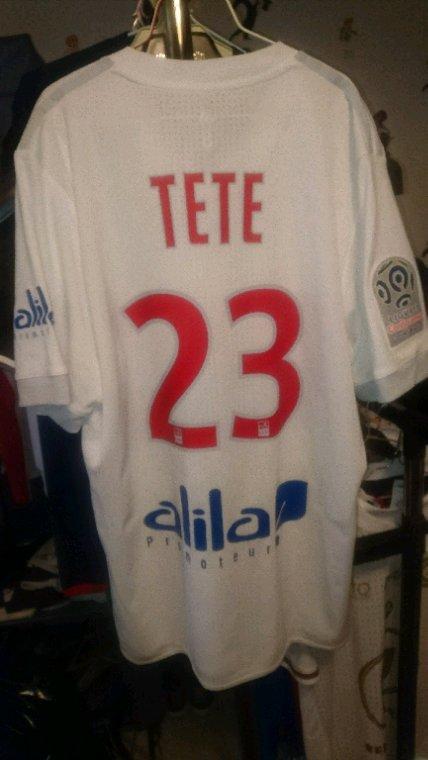 Maillot porté Tete