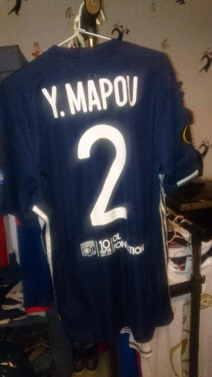 Maillot porté Mapou