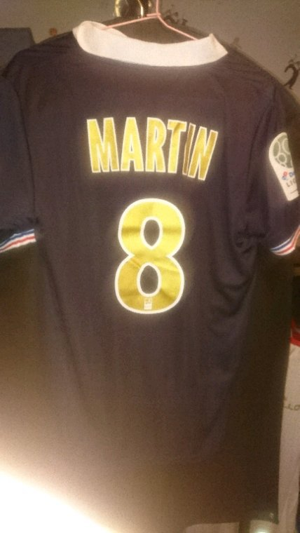 Maillot porté Martin
