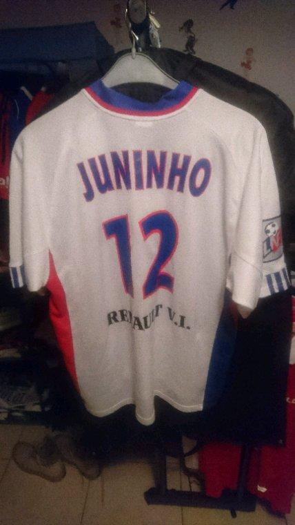 Maillot porté Juninho