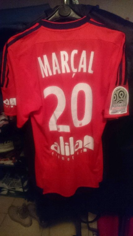 Maillot porté Marcal à Angers