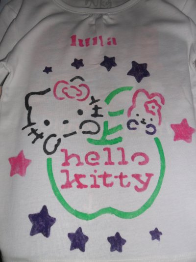 Les tee shirt hello kitty