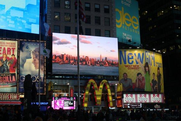« New York est la ville où l'on se sent chez soi quand on est de nulle part. »