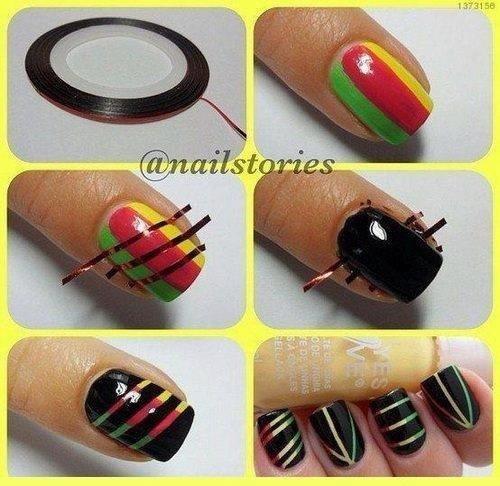 Un nail art trop beau