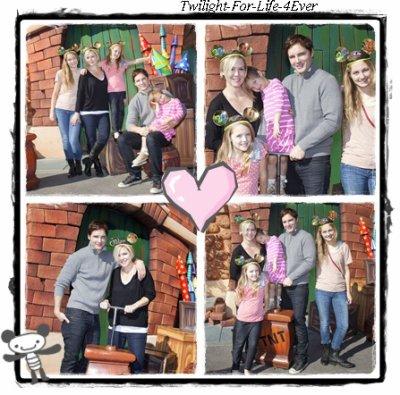 Peter Avc Sa Famille A Disney Land