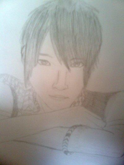 Kazuya... dessin by me.. for you, Kazuya..
