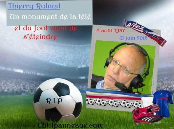 Hommage à Thierry Roland
