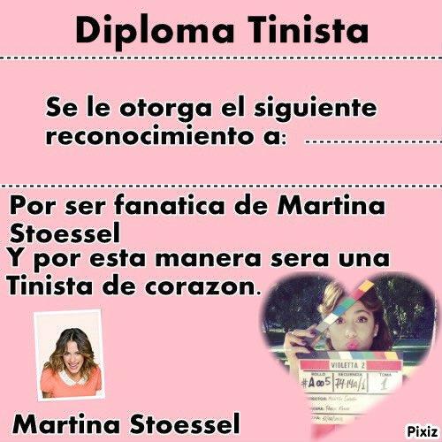 Diplome Tinistas !!!