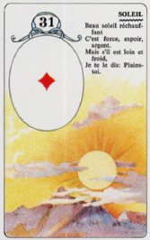 cartes de Melle Lenormand