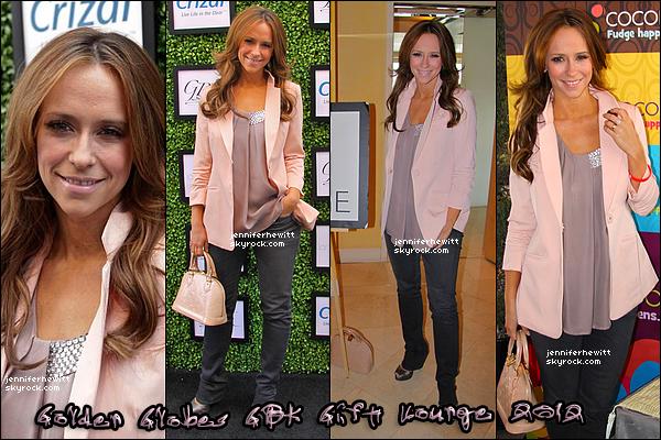14/01/2012 - Jennifer Love Hewitt était présente aux Golden Globes Gift Lounge 2012 Jour 02.
