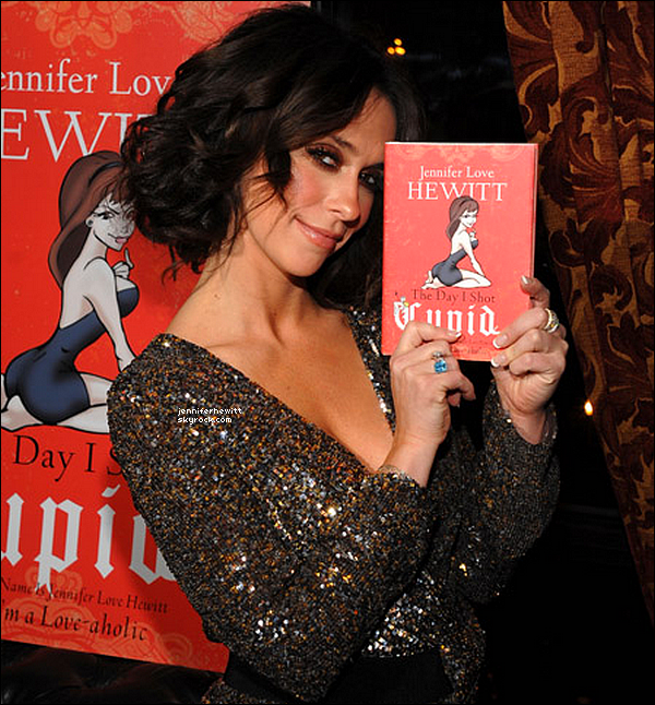 The Day I Shot Cupid : Le premier livre de Jennifer Love Hewitt.