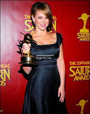 Les prix décernés à Jennifer Love Hewitt depuis le début de sa carrière.