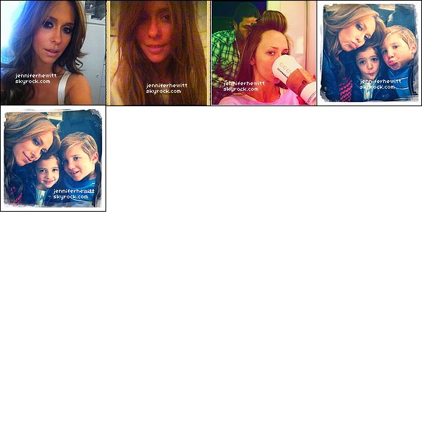 Tweets de Jennifer Love Hewitt du mois de février 2012.