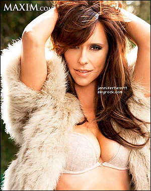 Jennifer élue 06ème des femmes les plus sexy !
