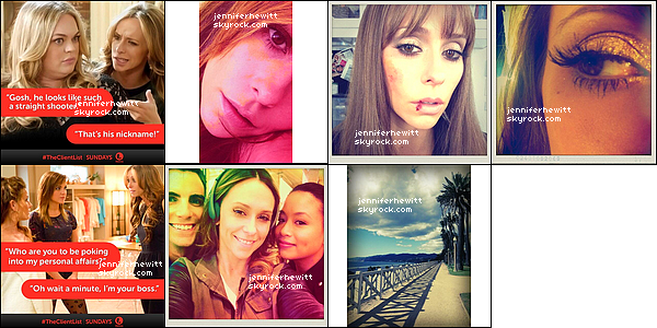 Tweets de Jennifer Love Hewitt du mois d'avril 2013.