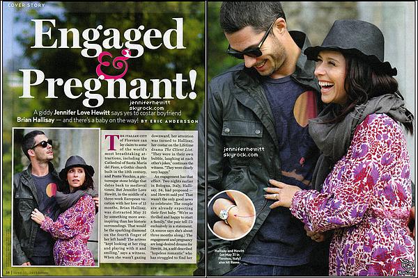 CONFIRME : Jennifer Love Hewitt et Brian Hallisay vont accueillir leur premier enfant !