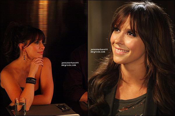 04/09/2013 - La belle et radieuse JLH a été vue en balade shopping à Los Angeles avec son amie Rebecca Field.