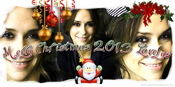 MERRY CHRISTMAS 2013 LES LOVELYS !