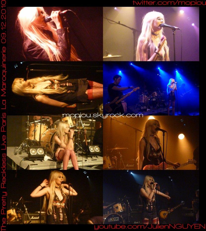 [a=http://www.youtube.com/view_play_list?p=967D525C8CA31C0A][g]THE PRETTY RECKLESS Live in PARIS Maroquinerie 9 Décembre 2010 Concert avec Taylor Momsen[/g][/a]