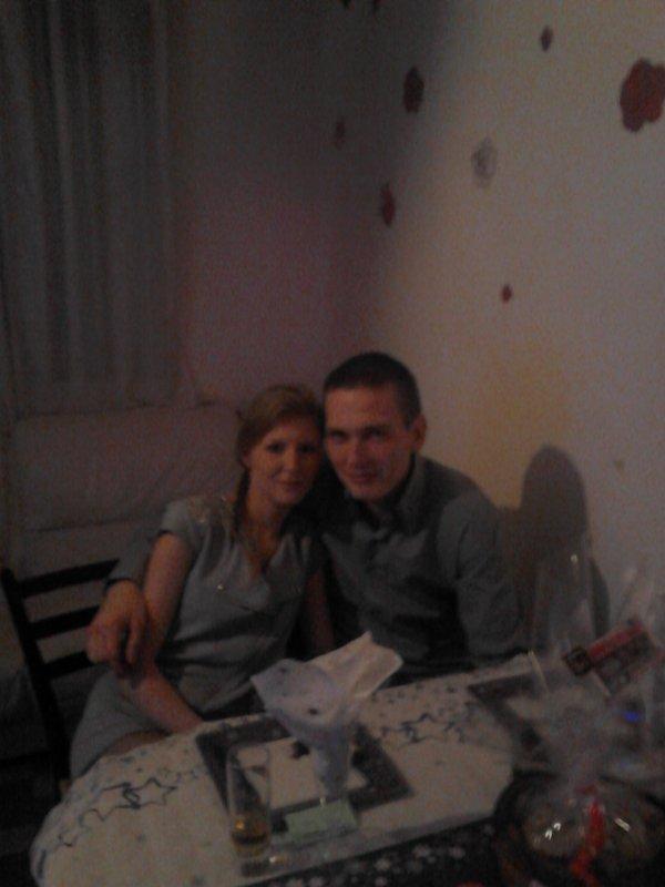 Mon homme et moi !! <3