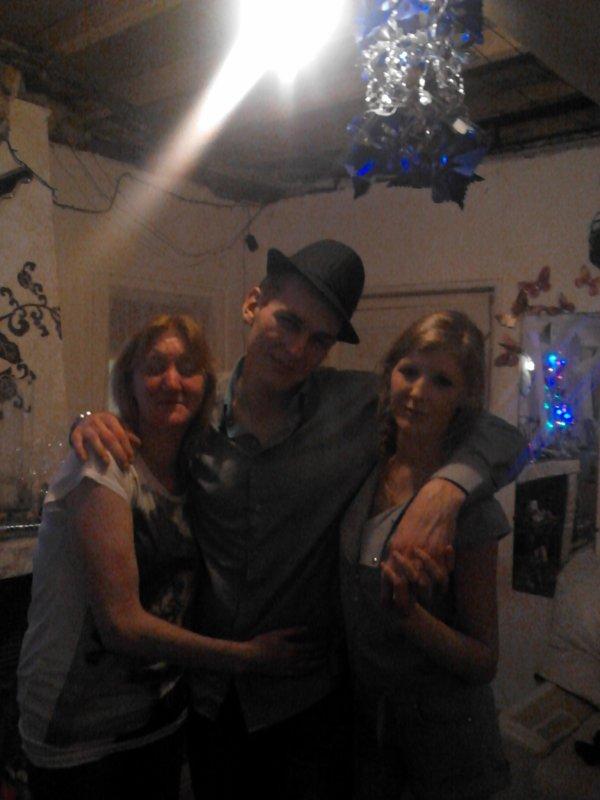 Ma mère mon homme et moi !!