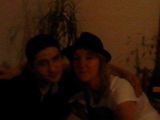 Ma mère et mon frère !! <3