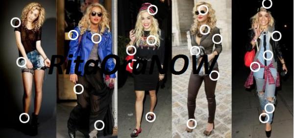 Look de Rita Ora: En 5 tenues
