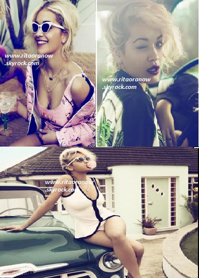 Rita Ora: I-D Photoshoot