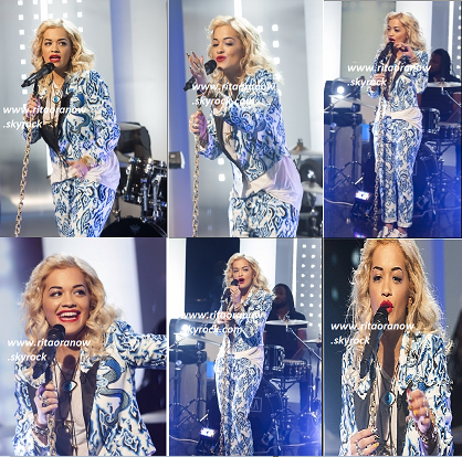 "Rita Ora: Très belle sur le plateau de ""This Morning"" à Londres"