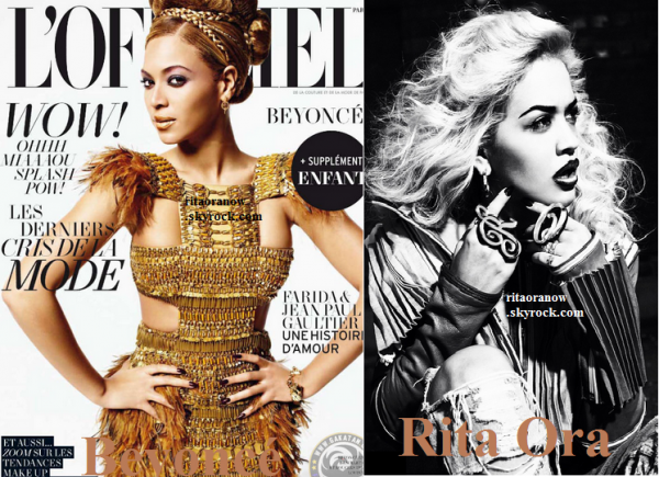 "Rita Ora: ""Beyoncé m'a dit d'être juste moi-même."""