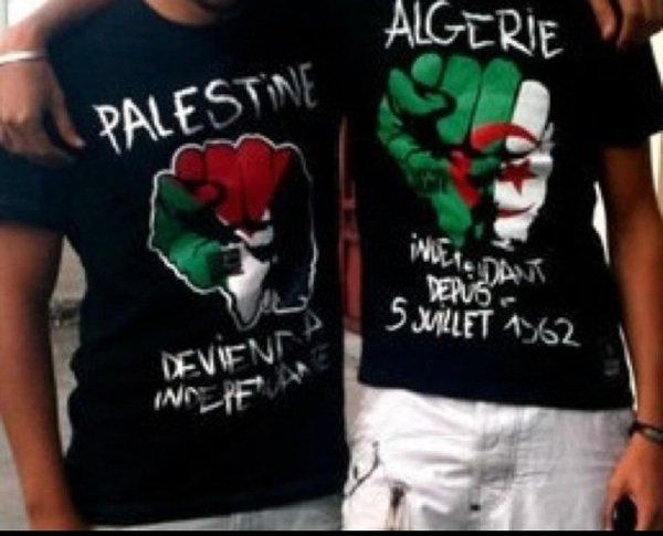 Rien a faire du rêve américain, mon rêve a moi est Palestinien ❤