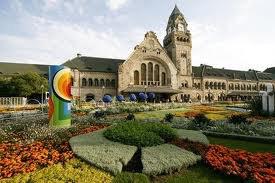 Visite de la ville de Metz en Lorraine (57)