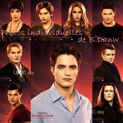 Le 15/10/2011: Voici les photos individuelles des personnages (pas tous) de B.Danw ! Lequel ou Laquelle préférez-vous ?