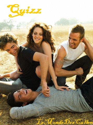 Quel personnage de Twilight pourrais-tu être?