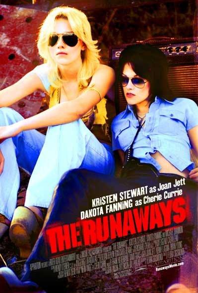 The Runaways , un film avec Kristen Stewart   & Dakota Fanning    sort Jeudi 20 janvier 2011 !!
